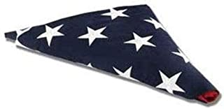 product image for Folded Flag – Pre Folded American Flag Made in The USA with Fully Embroered Stars and Sewn Stripes