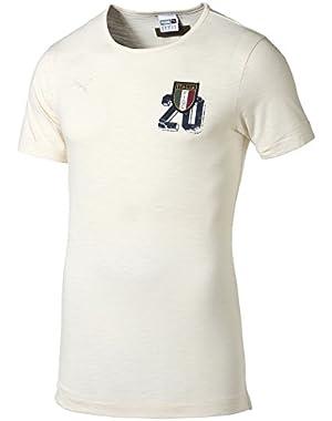 2015-2016 Italy Puma FIGC Azzuri Tee (White)