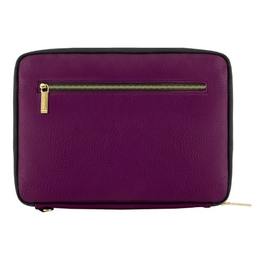 VanGoddy Irista ECO Leather Sleeve for BLU TouchBook & Life View 7 to 8