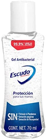 Escudo Gel Antibacterial, 70 ml