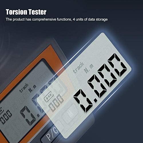デジタルトーションドライバー、デジタルトーションドライバープリセット調整可能なハンドツール、10個のドライバービットZNS-0.5で精密測定