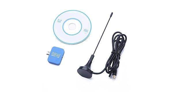 JVSISM para telefonos Android USB Dongle SDR+R820T2 DVB-T SDR TV Sintonizador Receptor de Radio Caliente: Amazon.es: Electrónica