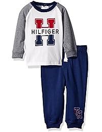 Baby Boys' Jersey Top with Fleece Pants Set