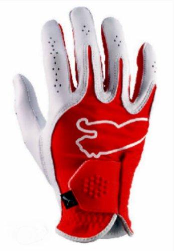 Puma Men's Right Hand Monoline Performance Glove (Red, M-Large)