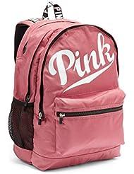 Victorias Secret PINK Campus Backpack Soft Begonia Logo
