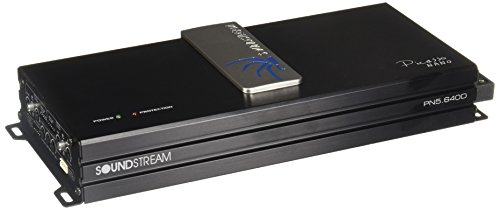 Soundstream PN5.640D Picasso Nano 640 W 5-Channel Class D digital Car Audio Amplifier