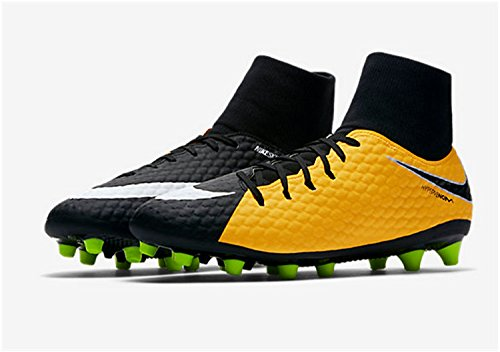 Chaussures Jr 3 AG Football white Hypervenom Orange de Phelon DF Pro Orange Mixte Black volt Laser Enfant NIKE 0qHdx0