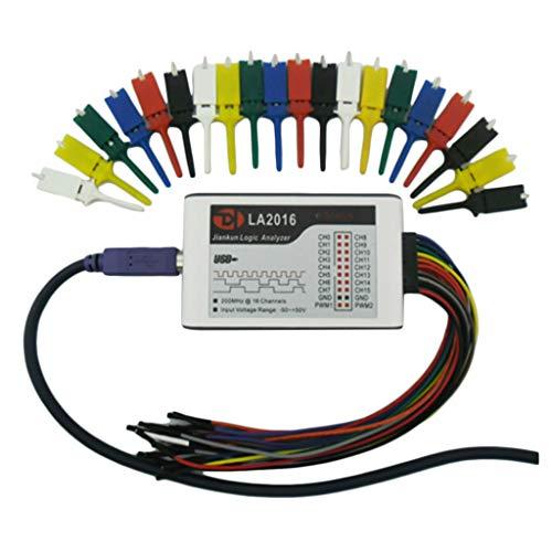 gazechimp アナライザー USBロジックアナライザー 16チャネル 100/200/500Mサンプリングレート - 200M