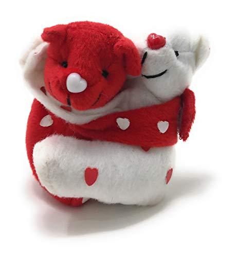 Bean Bag Hugging (Oriental Trading Company Plush Hugging Valentine Bean Bag Bears)