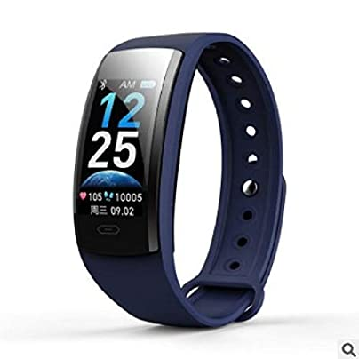 DMMDHR Color Screen Smart Wristband Heart Rate And Blood Pressure Blood Oxygen Monitoring Information Remind Estimated Price £95.38 -