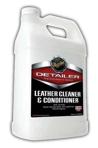 Meguiar's Cleaner & Conditioner – Leather Treatment Cleans and Restores – D18001, 1 gal, 128....