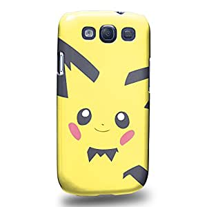 Case88 Premium Designs Pokemon Pichu Protective Snap-on Hard Back Case Cover for Samsung Galaxy S3