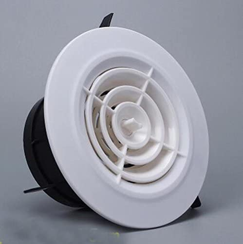 2 PCS Ducted Heater Aircon Ceiling Outlet Vent//Air inlet Circular air outlet