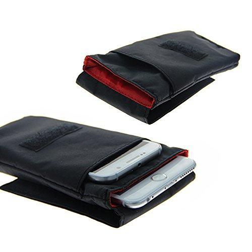 K-S-Trade(TM) Gürteltasche / Holster, Brusttasche Brustbeutel für Apple iPhone 5c, schwarz. Travel Bag, Travel-Case vertikal. Schutz vor Diebstahl / Raub! (Wir zahlen Steuern in Deutschland!)