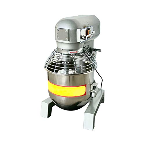 110V 1800W 3 Speed 30Qt 2.4HP Commercial Dough Food Mixer Gear Driven Pizza Bakery by Taishi