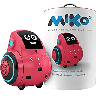 Miko 2: Playful Learning STEM Robot | Programmable + Voice Activated AI Tutor + Autonomous + Educational Games | 30+ Free Apps | Best Birthday Gift for 5 6 7 8 9 Boys and Girls