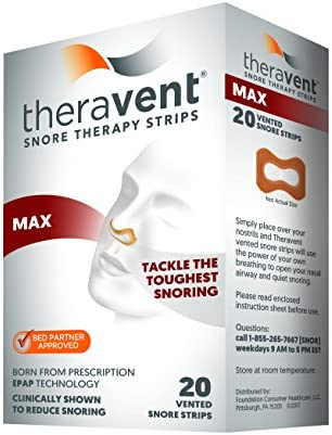 Theravent Snore Therapy Maximum Strength product image