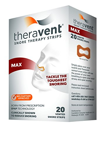 Theravent Snore Therapy Strips (MAX)