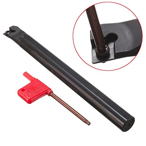 Hitommy S16Q-SCLCR09 16x180mm Lathe Boring Bar Turning Tool Holder For CCMT09T3 Insert by Hitommy (Image #8)