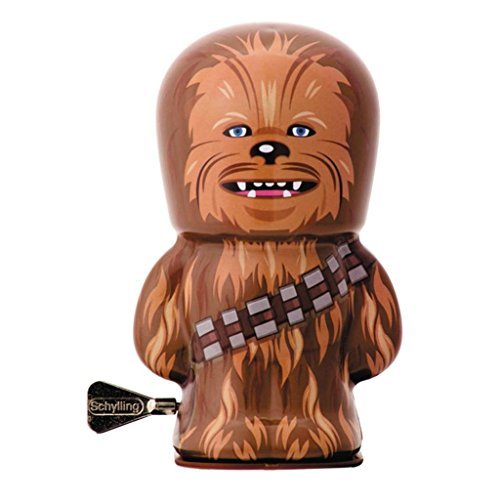 Official Star Wars Chewbacca Character Tin Wind Ups Bebot Collectable Toys - Boxed by Star Wars