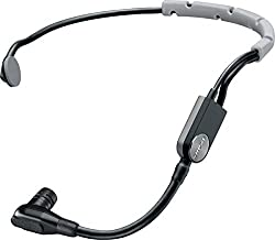 Shure Sm35-xlr Performance Headset Condenser Microphone With Snap-fit Windscreen & Inline Xlr Preamp