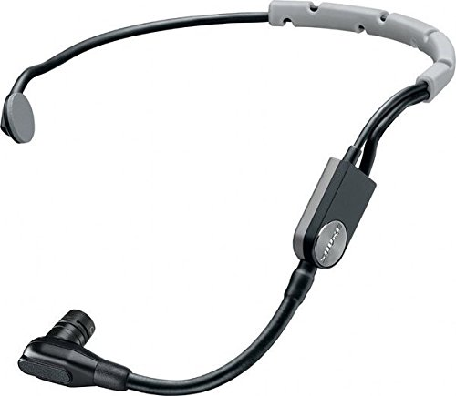 Shure SM35-XLR Performance Headset Condenser Microphone with Snap-fit Windscreen and Inline XLR Preamp - Snap Fit Windscreen