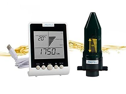 Jauge cuve à fioul sans fil et moniteur digital pour les réservoirs d huile  de 692f1e38c9af