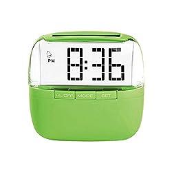 Lifemax Solar Alarm Clock with LED Display