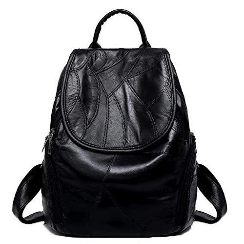 Voyage FBUFBC182555 Noir Sacs Noir Fête Zippers bandoulière à AllhqFashion Femme On47qwxqa