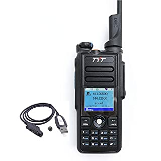 Discount TYT MD-2019 DMR Dual Band Digital Handheld Two Way Radio Transceiver with Programming Cable