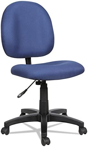 Alera ALEVT48FA20B Essentia Series Swivel Task Chair, Acrylic, Blue