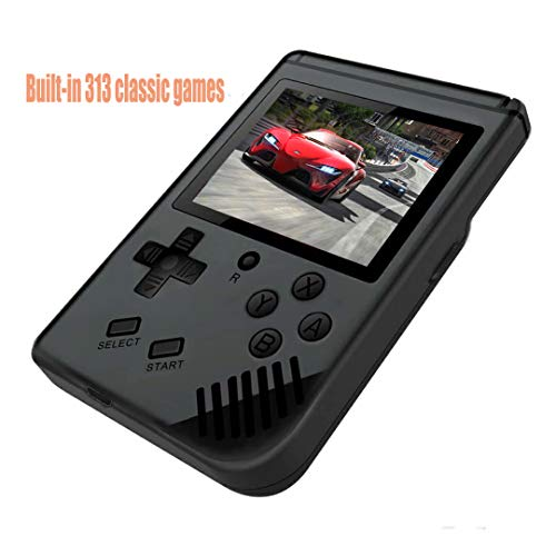 Yuegoo Handheld Game Console, Retro Game Console with 313 Classic Games 3.0 inch Screen Portable Game Console, Good Gifts for Kids.