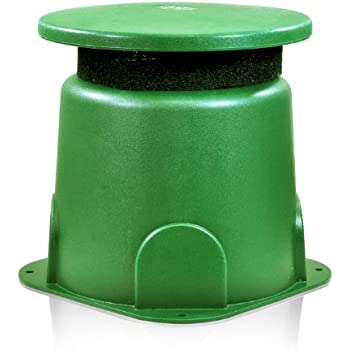 OSD Audio OM-SUB200 8-inch Omni 360-Degree Outdoor 250-Watt Subwoofer with Built-In Crossover, Green