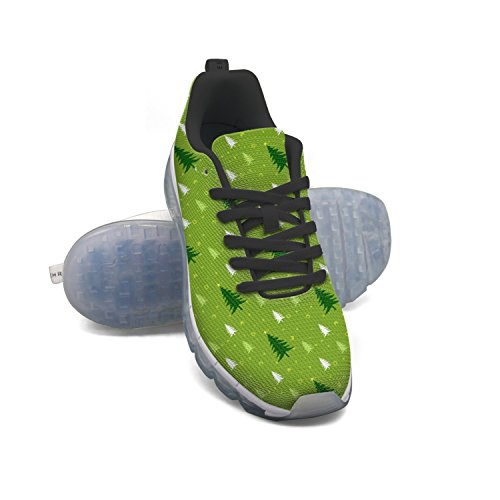 FAAERD Green Christmas Tree Men's Fashion Lightweight Mesh Air Cushion Sneakers Tennis Shoes sast sale online cost for sale authentic cheap price OKpdu36