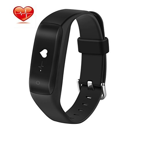Heart Rate Smart Watch,HotYet Fitness Tracker Wristband Bluetooth Waterproof Smart Band With Steps GPS Routes Tracking Sleep Monitor for IOS Android