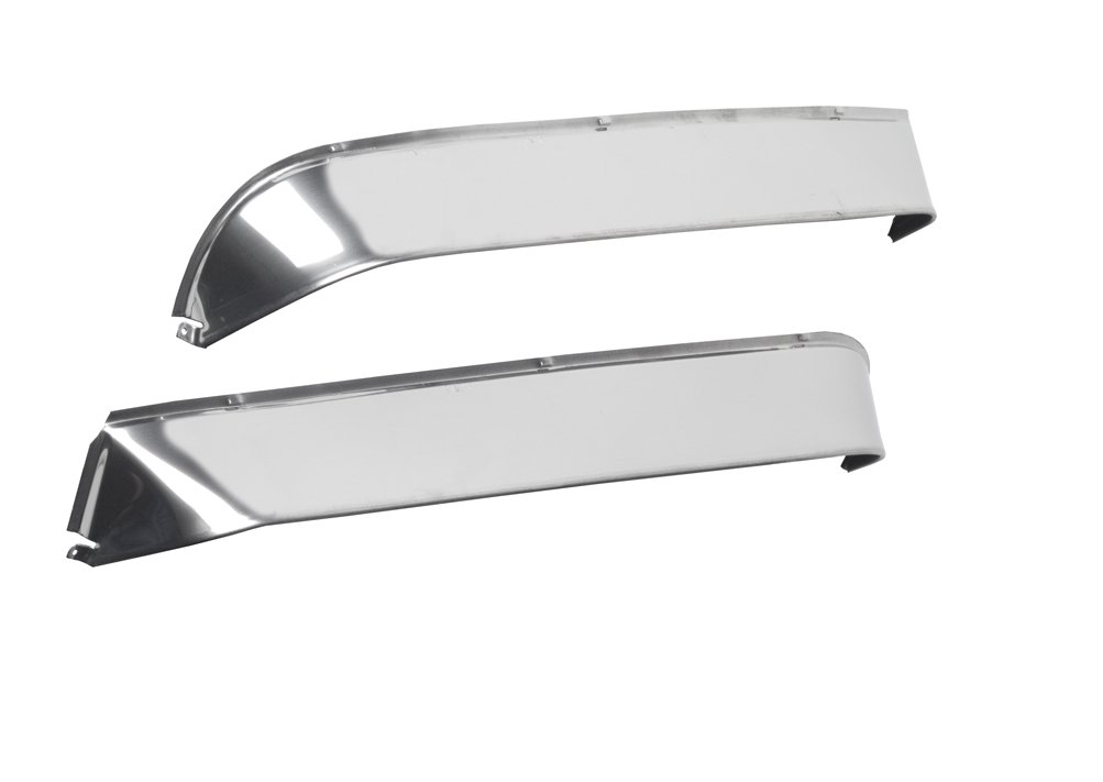 Belmor VS-FL3-1 Stainless Steel Ventshade for 1988-1993 Freightliner Classic