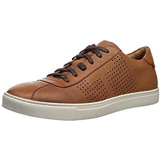 Marc Joseph New York Mens Genuine leather Made in Brazil Astor Place Sneaker tan grainy 10.5 M US