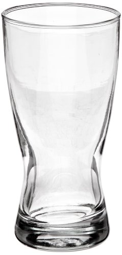 Anchor Hocking 7410U 2-7/8 Inch Diameter x 5-3/4 Inch Height, 10-Ounce Bavarian Pilsner Beer Glass (Case of 36) by Anchor Hocking