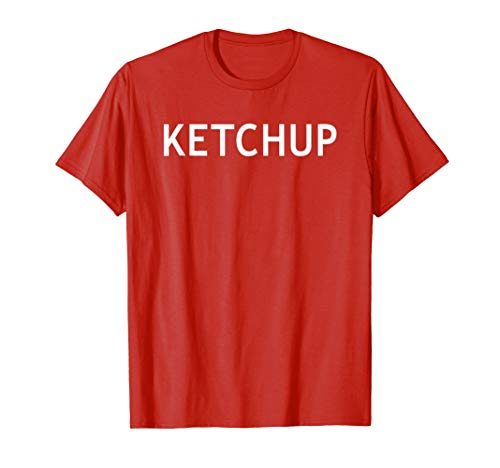 Ketchup Matching Couples Costume Halloween Shirt for $<!--$17.99-->