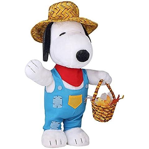 Peanuts Snoopy Harvest Plush Fall Greeter (Plush Porch Greeter)