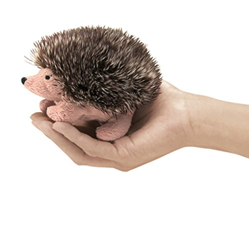 UPC 638348026682, Folkmanis Mini Hedgehog Finger Puppet