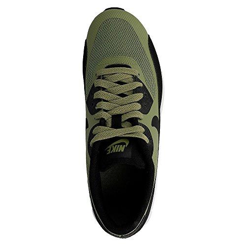 Nike Air Max 90 Ultra 2.0 (GS) Sneaker Turnschuhe Schuhe für Jungen Grün (Palm Green/White/Black)