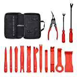 UTOOL Ultra Trim Tool 14pcs with EVA with with Organizer and Additional Fastener and Clip Remover