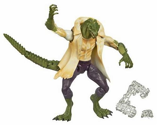 Spider-Man Movie Classic 2 Action Figure Lizard. Slashing tail smash attack! (Lizard Man Action Figure)