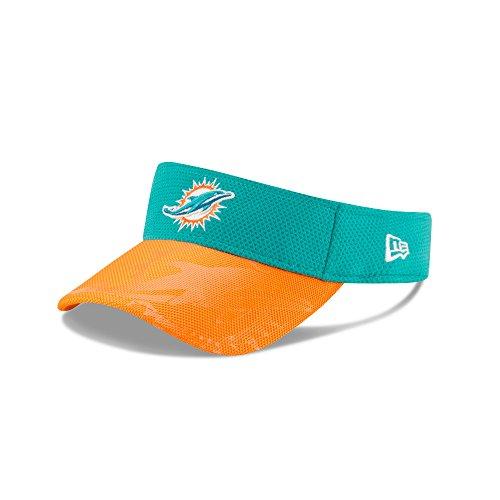 Men's NFL 2016 New Era Sideline Visor (OSFM, Miami Dolphins)