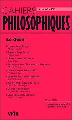 désir (Cahiers Philosophiques,