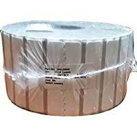 Zebra Technologies 10010066-EA 8000T Jewelry Kimdura Polypropylene Label, Thermal Transfer, Butterfly Label without Flaps, Perforated, 2.2 x 0.5, 1 Core, 5 OD, 3510 Labels per Roll