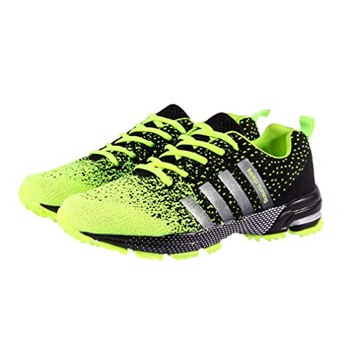 Verde Outdoor Deportivas Zapatillas Hombre Deporte Sneakers Running Baloncesto Shoes Fitness Absorber Shock 38 46 Running qxwgzq6SR