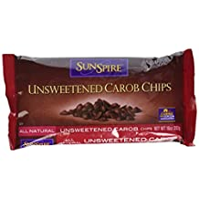 Sunspire Unsweetened Carob Chips (12x10 Oz)