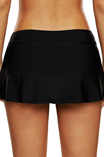 Women's swim skirt cover up beach wear boardshort tankini